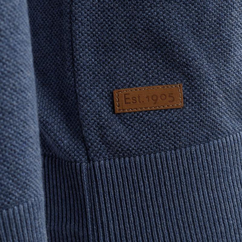 Q1905 Men's Pullover Leusden - Denim Blue