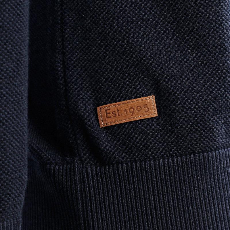 Q1905 Men's Pullover Leusden - Dark Blue