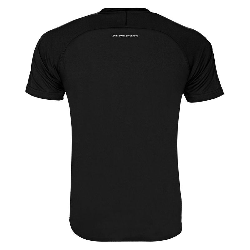 Q1905 Heren Trainingsshirt Maher - Zwart / Grijs / Wit