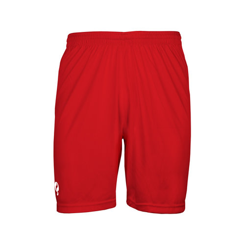 Heren Trainingsshort Karami - Rood/Wit
