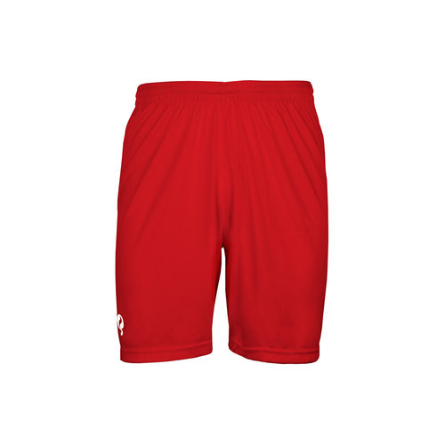 Kids Trainingsshort Karami - Rood/Wit