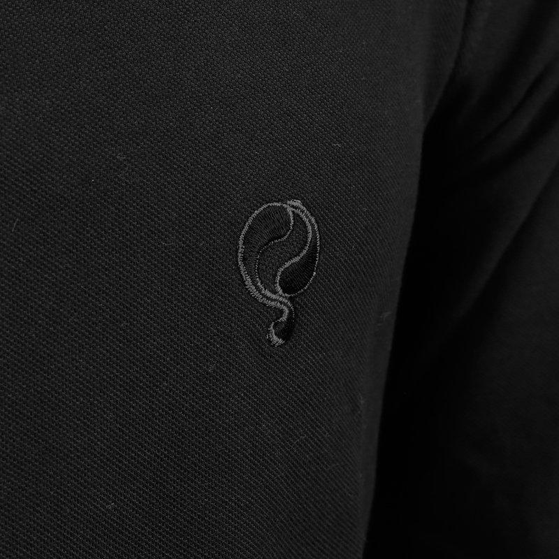 Q1905 Heren Polo Blaricum - Zwart