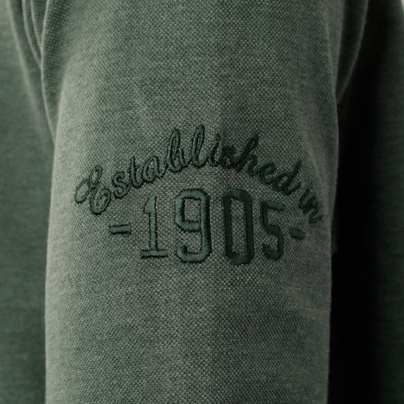 Q1905 Heren Polo Blaricum - Bosgroen