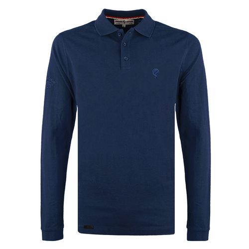 Men's Polo Blaricum - Marine Blue