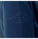 Q1905 Heren Polo Blaricum - Marine Blauw