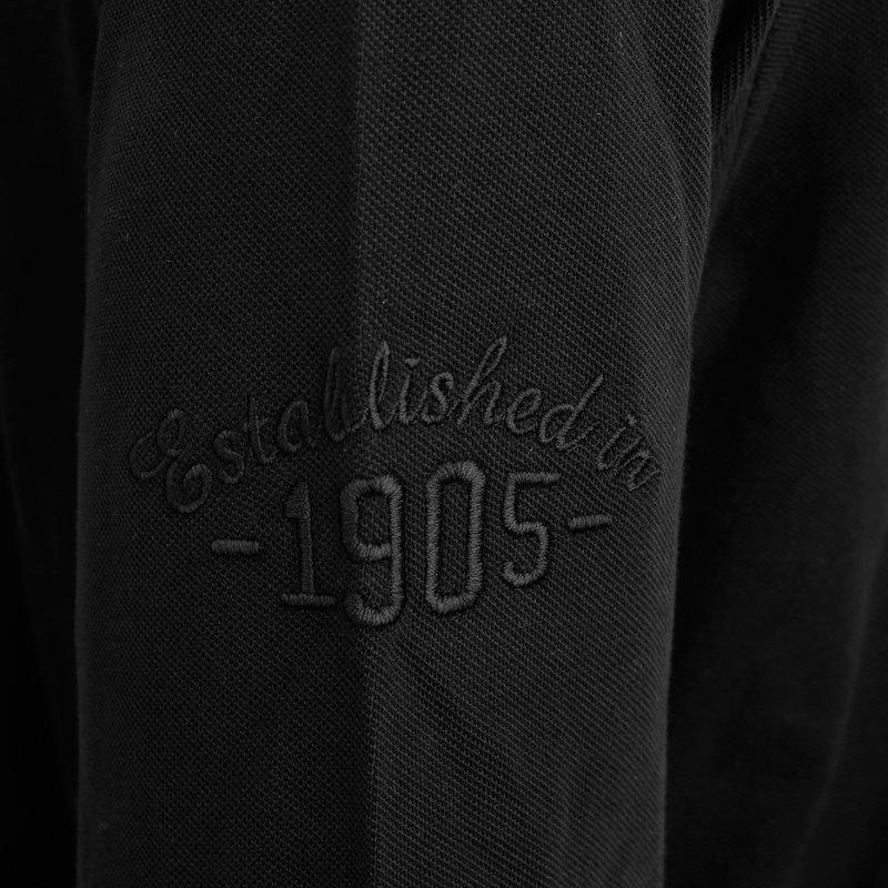 Q1905 Heren Polo Blouse Bunschoten - Zwart