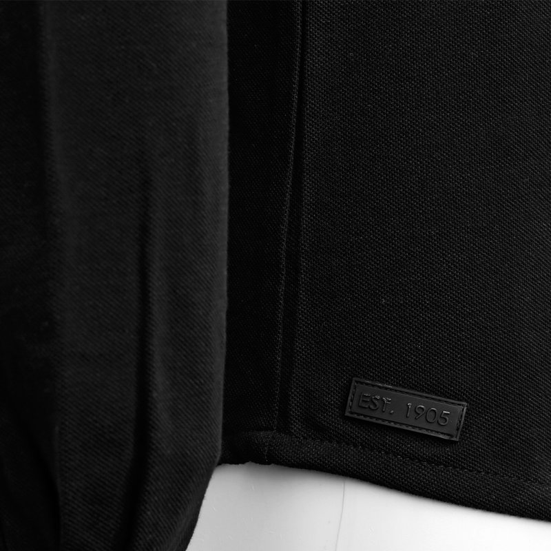 Q1905 Men's Polo Blouse Bunschoten - Black