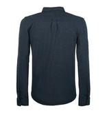 Q1905 Men's Polo Blouse Bunschoten - Denim Blue