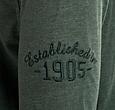 Q1905 Heren Polo Blouse Bunschoten - Bosgroen