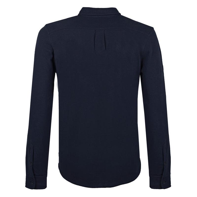 Q1905 Men's Polo Blouse Bunschoten - Dark Blue