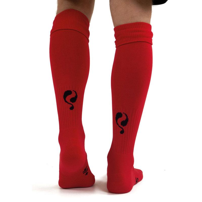 Q1905 Standaard Kousen - Rood/Zwart