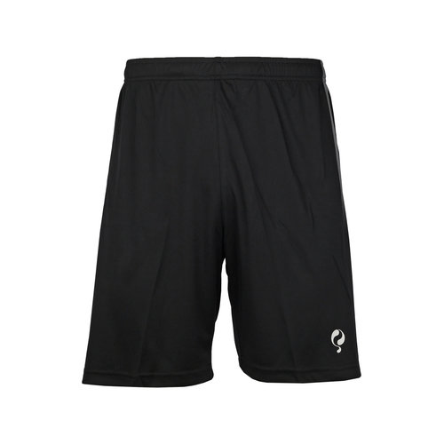 Heren Trainingsshort Namli Zwart / Grijs / Wit