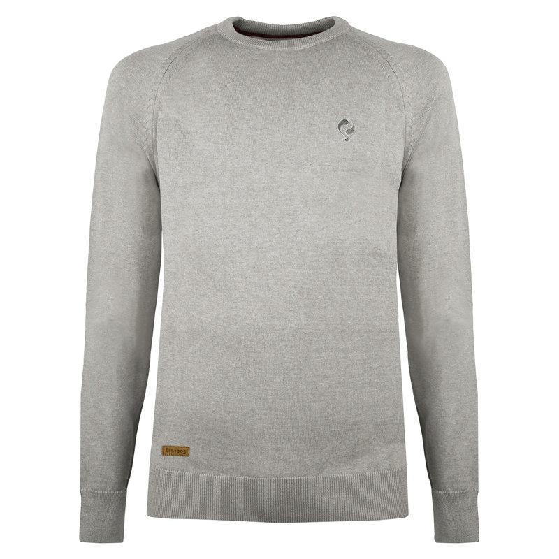 Q1905 Men's Pullover Rozenburg - Middle gray