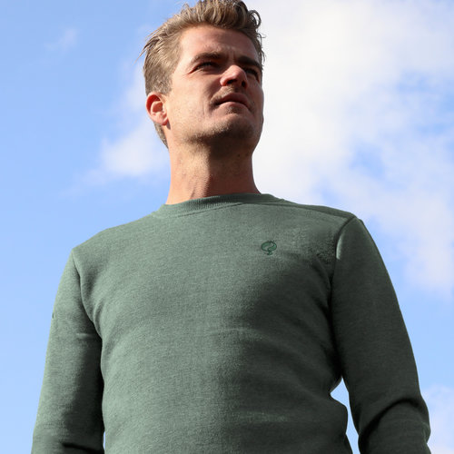 Men's Pullover Zevenaar - Forest Green