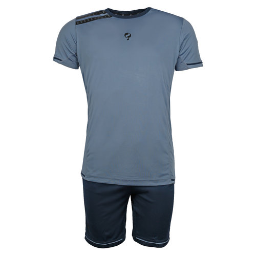 Men's Trainingsset Vloet Light Blue / Navy / Black