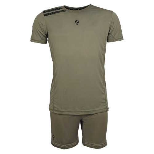 Men's Trainingsset Vloet Light Green / Green / Black