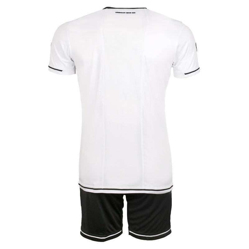 Q1905 Heren Trainingsset Vloet Wit / Zwart