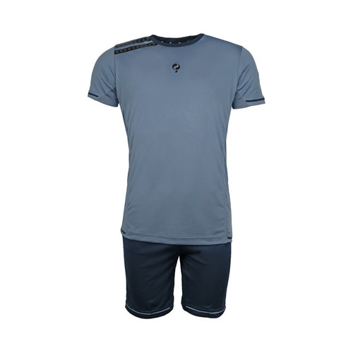 Kids Trainingsset Vloet Light Blue / Navy / Black