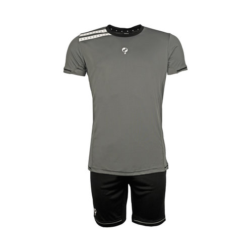 Kids Trainingsset Vloet Grey / Black / White