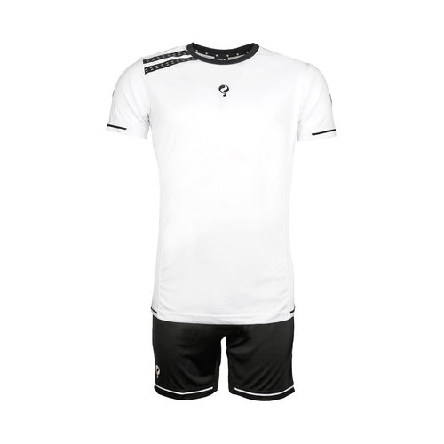 Kids Trainingsset Vloet White / Black