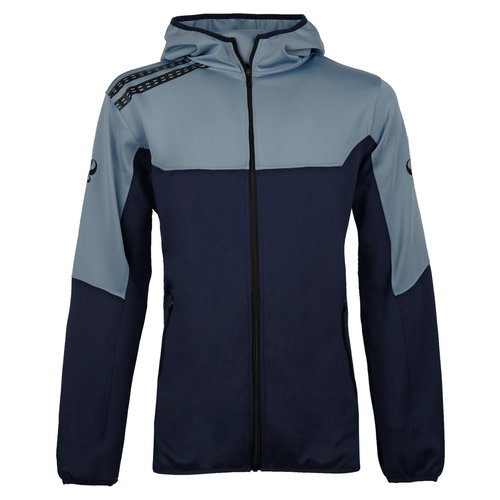 Heren Trainingsjack Pantic - Lichtblauw/Navy/Zwart