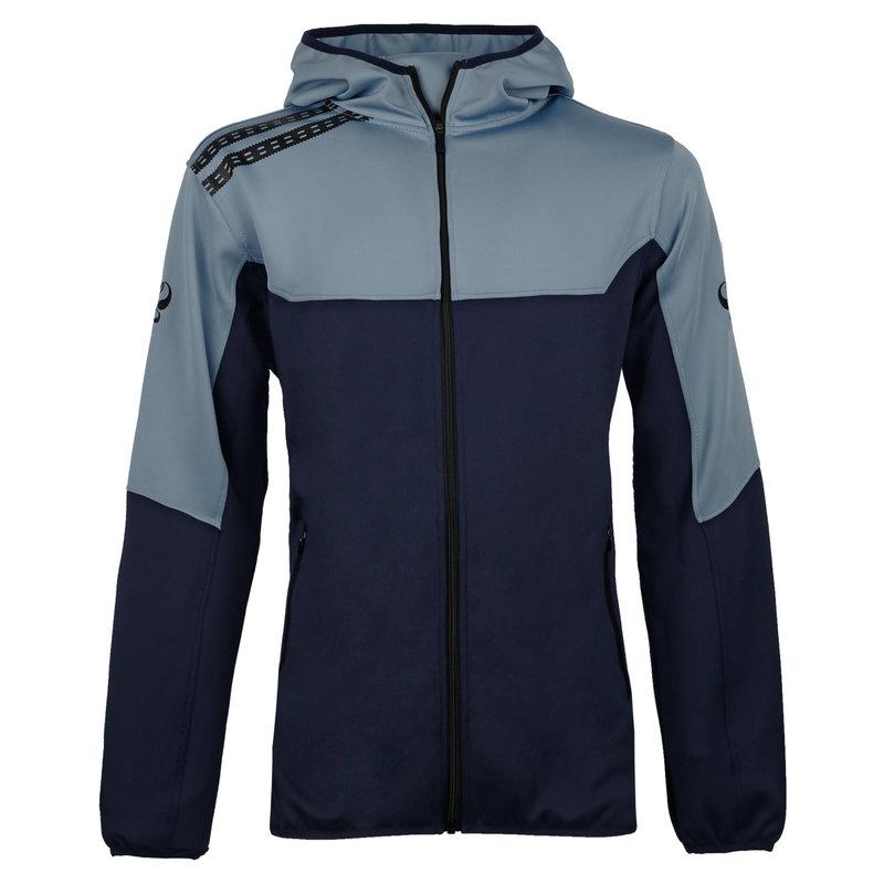 Q1905 Heren Trainingsjack Pantic - Lichtblauw/Navy/Zwart