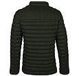Q1905 Men's Jacket Ravestein - Dark Green/Orange