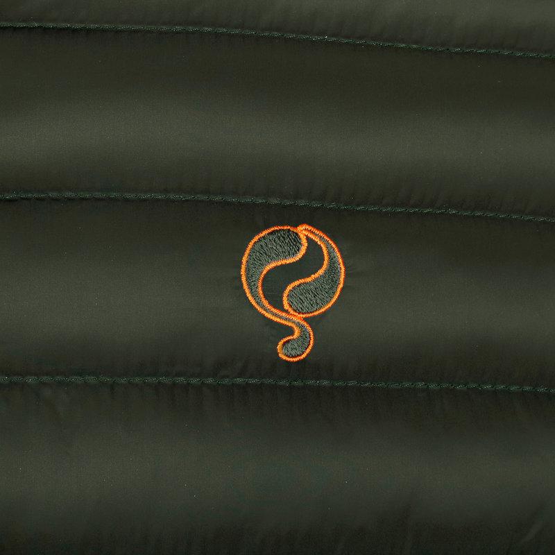 Q1905 Heren Jas Ravestein - Donkergroen/Oranje