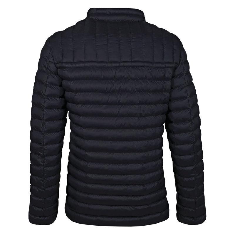 Q1905 Men's Jacket Ravestein - Dark Blue/Orange