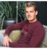 Q1905 Men's Pullover Zaandijk - Wine Red