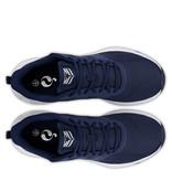 Q1905 Heren Sneaker Oostduin - Donkerblauw/Wit