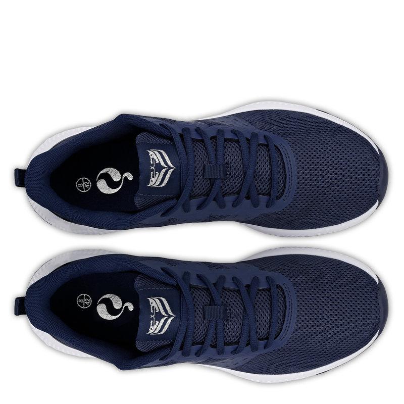 Q1905 Men's Sneaker Oostduin - Dark Blue/White