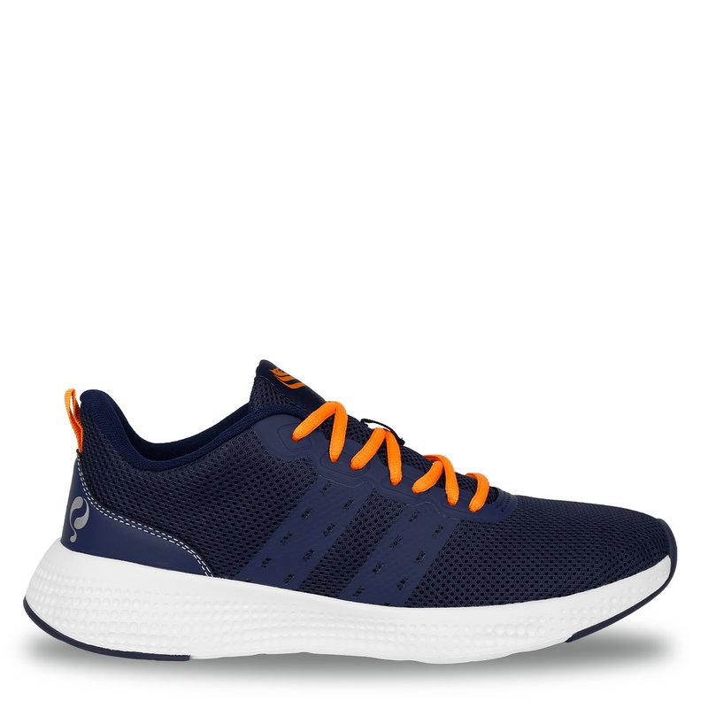 Q1905 Men's Sneaker Oostduin - Dark Blue/Orange