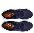 Q1905 Heren Sneaker Oostduin - Donkerblauw/Oranje