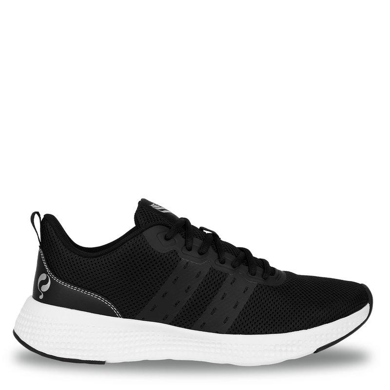 Q1905 Heren Sneaker Oostduin - Zwart/Wit