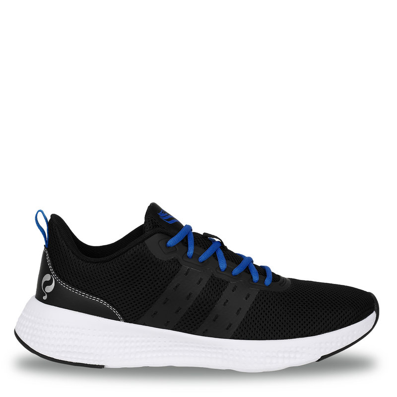 Q1905 Men's Sneaker Oostduin - Black/White/Kings Blue