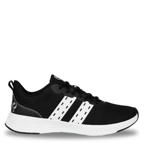 Men's Sneaker Oostduin - Black/White/White
