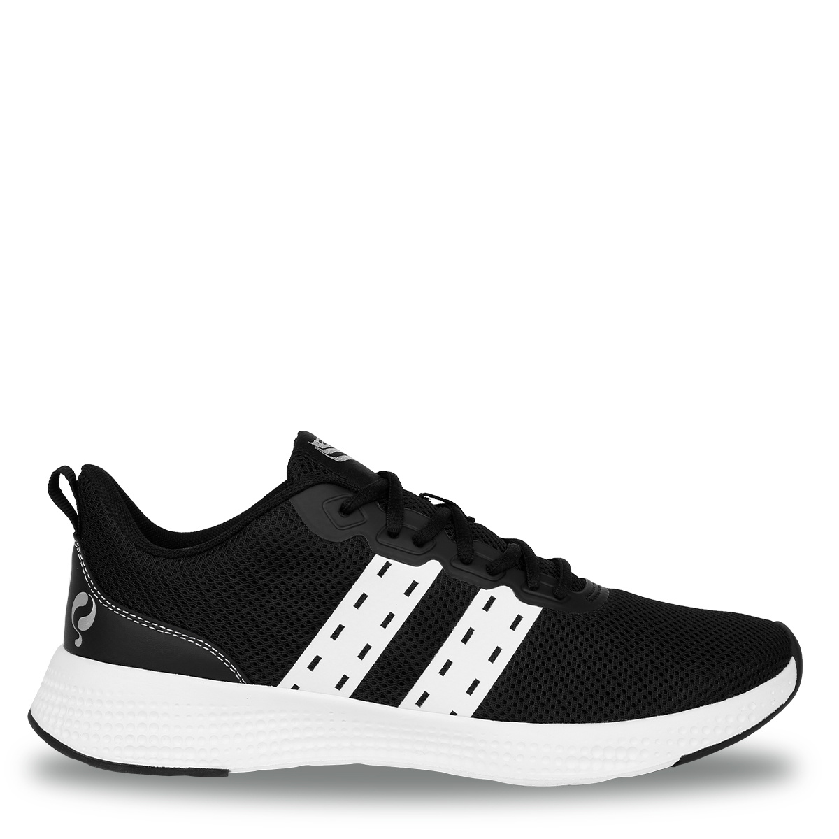 Heren Sneaker Oostduin - Zwart/Wit/Wit