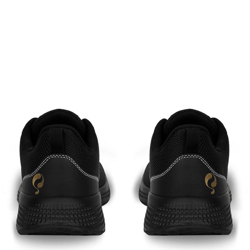 Q1905 Heren Sneaker Oostduin - Zwart/Zwart