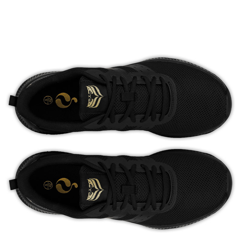 Q1905 Men's Sneaker Oostduin - Black/Black