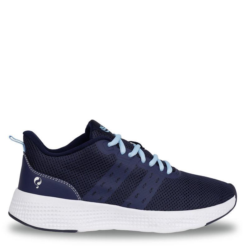 Q1905 Women's Sneaker Oostduin - Dark Blue/Light Blue