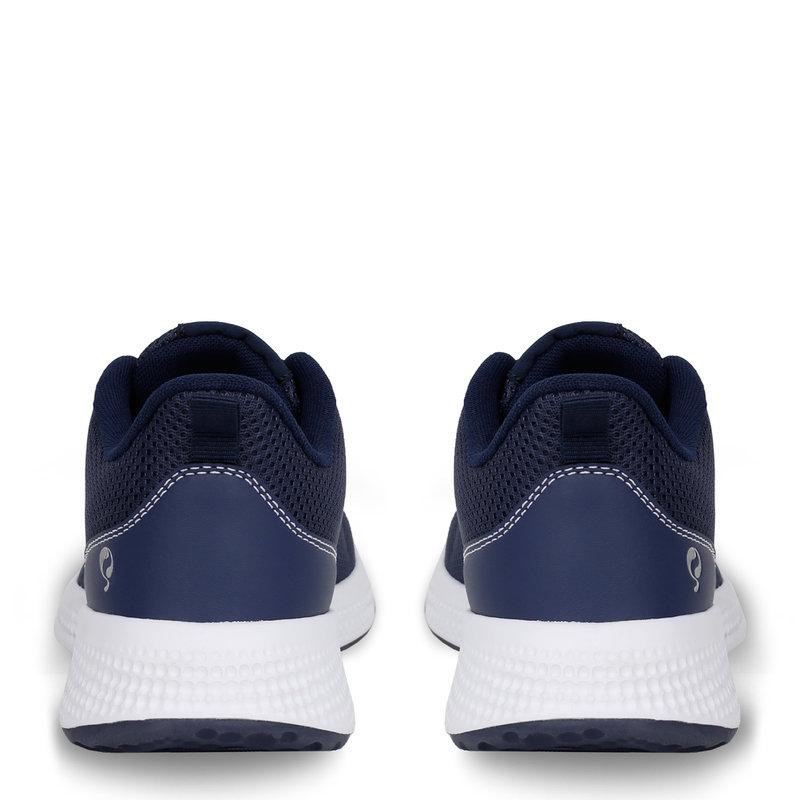 Q1905 Dames Sneaker Oostduin - Donkerblauw/Wit