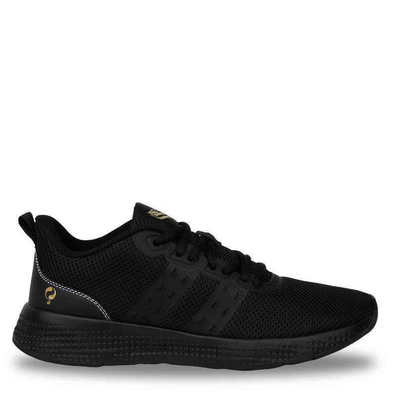 Q1905 Dames Sneaker Oostduin - Zwart/Zwart