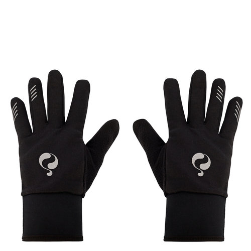 Gloves Q - Black/White