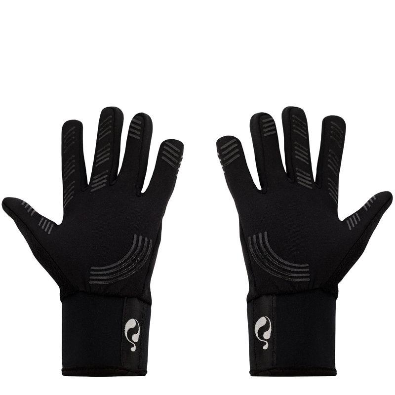 Q1905 Handschoenen Q - Zwart/Wit