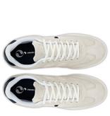 Q1905 Heren Sneaker Platinum - Witgrijs/Donkerblauw