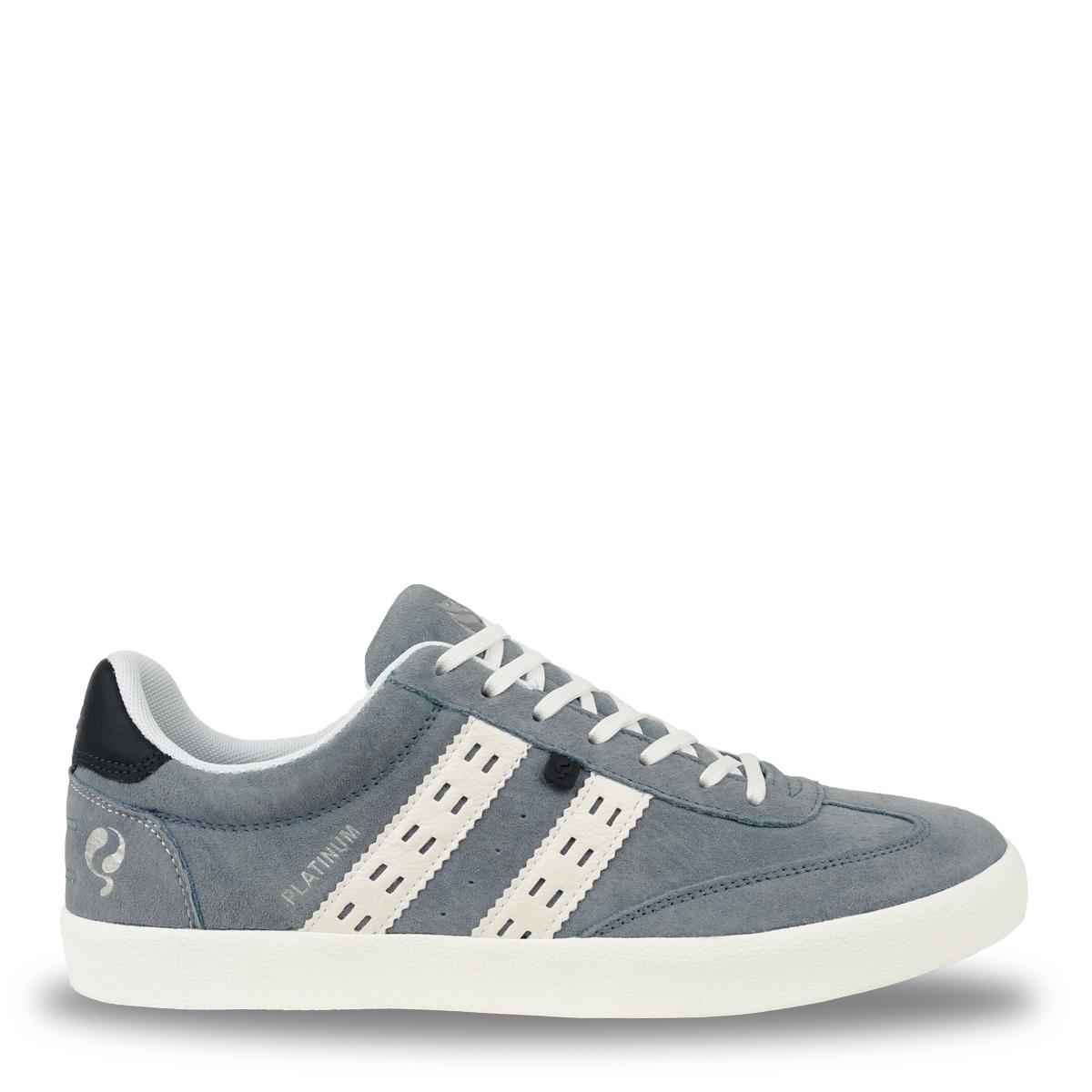 Heren Sneaker Platinum - Lichtblauw/Wit