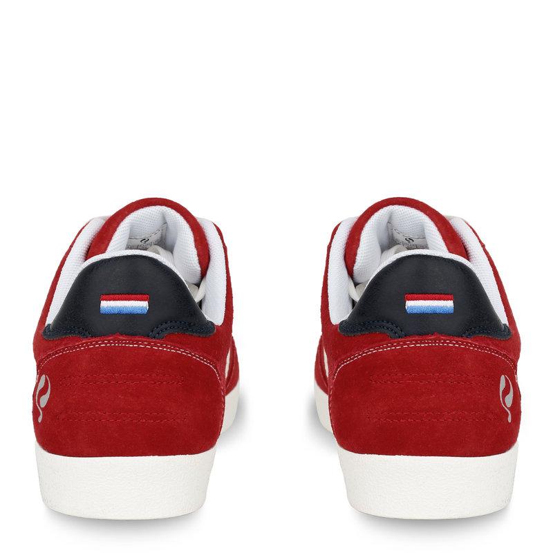 Q1905 Heren Sneaker Platinum - Rood/Wit