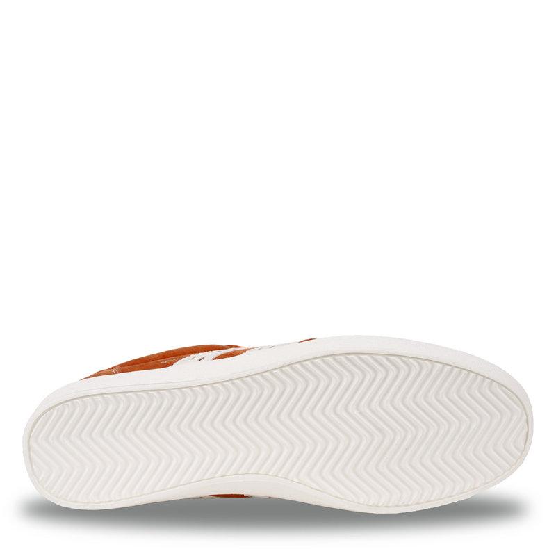 Q1905 Heren Sneaker Platinum - Oranje/Wit