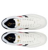 Q1905 Heren Sneaker Platinum - Wit/Rood-Blauw